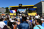 Sign on before the start of Stage 5 of the 2018 Tour de France running 204.5km from Lorient to Quimper, France. 11th July 2018. <br /> Picture: ASO/Alex Broadway | Cyclefile<br /> All photos usage must carry mandatory copyright credit (&copy; Cyclefile | ASO/Alex Broadway)