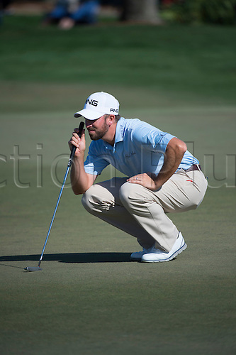 27.02.2016. Palm Beach, Florida, USA.  Michael Thompson during the third round of the Honda Classic at the PGA National Resort & Spa in Palm Beach Gardens, FL.
