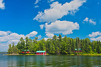 Cottages on Regina Bay on Lake of the Woods<br />