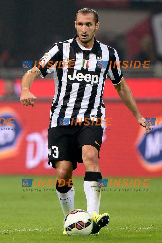 Giorgio Chiellini Juventus<br /> Milano 20-09-2014 Stadio Giuseppe Meazza - Football Calcio Serie A Milan - Juventus. Foto Giuseppe Celeste / Insidefoto