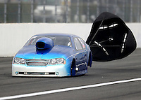 Feb 10, 2017; Pomona, CA, USA; NHRA top sportsman driver Phil Dion during qualifying for the Winternationals at Auto Club Raceway at Pomona. Mandatory Credit: Mark J. Rebilas-USA TODAY Sports