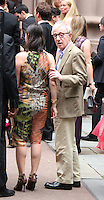 June 30, 2012 Soon-Yi, Woody Allen attend the Alec Baldwin and Hilaria Thomas Wedding Day at Basilica of St. Patrick's Old Cathedral in Little Italy in New York City.Credit:© RW/MediaPunch Inc. /*NORTEPHOTO.COM*<br /> *SOLO*VENTA*EN*MEXiCO* *CREDITO*OBLIGATORIO** *No*Venta*A*Terceros* *No*Sale*So*third* ***No Se*Permite*Hacer*Archivo** *No*Sale*So*third*©Imagenes con derechos de autor,©todos reservados. El uso de las imagenes está sujeta de pago a nortephoto.com El uso no autorizado de esta imagen en cualquier materia está sujeta a una pena de tasa de 2 veces a la normal. Para más información: nortephoto@gmail.com* nortephoto.com.