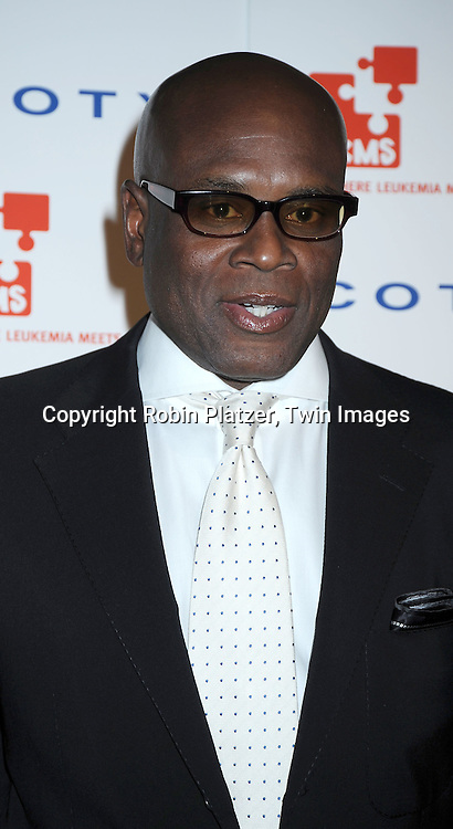 LA Reid posing for photographers at The DKMS' 4th Annual Gala: Linked Against Leukemia at Cipriani 42nd Street on April 29, 2010 in New York City.