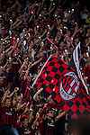 Fans of AC Milan support their team during the AC Milan vs FC Internacionale as part of the International Champions Cup 2015 at the looks onnggang Stadium on July 25, 2015 in Shenzhen, China.  Photo by Aitor Alcalde / Power Sport Images