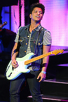 06/12/11 Universal City, CA: Bruno Mars performs during his Hooligans in Wondaland Tour at Gibson Amphitheatre.