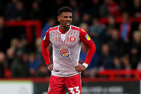 Tyler Denton of Stevenage during Stevenage vs Grimsby Town, Sky Bet EFL League 2 Football at the Lamex Stadium on 12th October 2019
