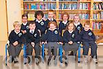 Naíonain bheaga pupils starting school at Scoil Naomh Eirc, Baile an Mhóraigh, on Thursday morning were, front l-r: Lorcan Mc an Ultaigh, JJ Ó Murchú, Rubaí Ní Chinnéide, Saoirse Ní Shlataire, Aodhan Mc Gearailt. Back l-r: Róisín Ní Mhurchú, Loic Langan Haouche, Niall Ó Sé, Maire Eilís Ní Gearailt, Muireann Ní Mhuircheartaigh.