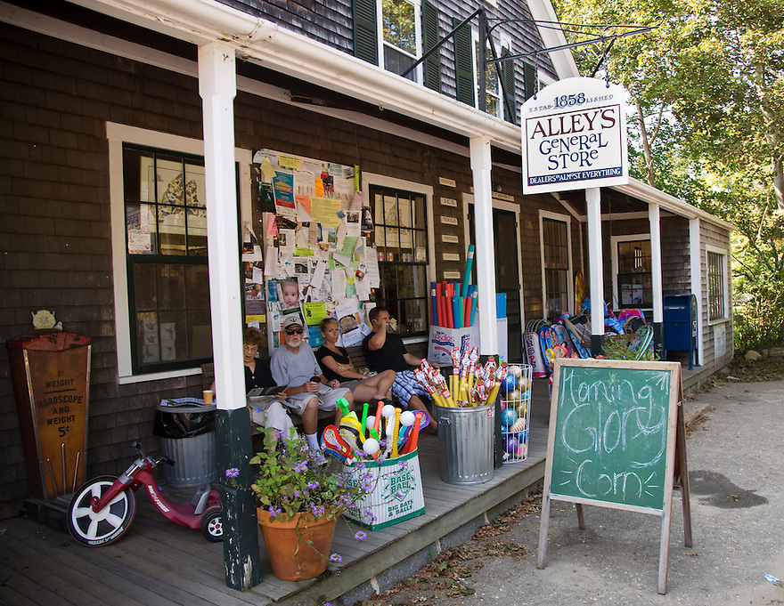 Alley's General Store in West Tisbury.....
