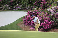 Francesco Molinari (ITA) on the 13th green during the 1st round at the The Masters , Augusta National, Augusta, Georgia, USA. 11/04/2019.<br /> Picture Fran Caffrey / Golffile.ie<br /> <br /> All photo usage must carry mandatory copyright credit (© Golffile | Fran Caffrey)