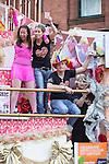 "© Joel Goodman - 07973 332324 . 23/08/2014 .  Manchester , UK . Coronation Street float . The parade through Manchester City Centre . Manchester Pride "" Big Weekend "" in Manchester "" today ( 23rd August 2014 ) . Photo credit : Joel Goodman"
