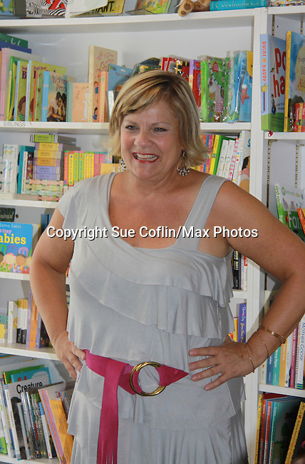 "Guiding Light's and One Life To Live's Kim Zimmer signs her new book ""I'm Just Saying'! on August 6, 2011 at Watchung Booksellers in Montclair, New Jersey for her fans and friends.  (Photo by Sue Coflin/Max Photos)"