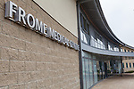 24/09/2013 24/09/2013 Exterior of Frome Medical Centre, Frome, Somerset.