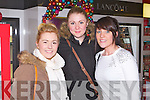 CH CHEMIST: Having great fun at the CH Chemist festive evening on Friday l-r: Nicola O'Leary, Kilflynn, Emma Patton, Tralee and Eilish O'Dowd, Abbeydorney.