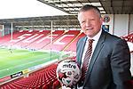Sheffield Unioted's new manager Chris Wilder at Bramall Lane, Sheffield, United Kingdom, 13th May 2016. Photo by Glenn Ashley.