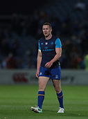 29th September 2017, RDS Arena, Dublin, Ireland; Guinness Pro14 Rugby, Leinster Rugby versus Edinburgh; Rory O'Loughlin (Leinster) warms uo