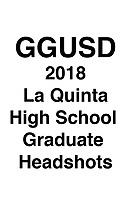 GGUSD 2018 La Quinta HS Grad headshots