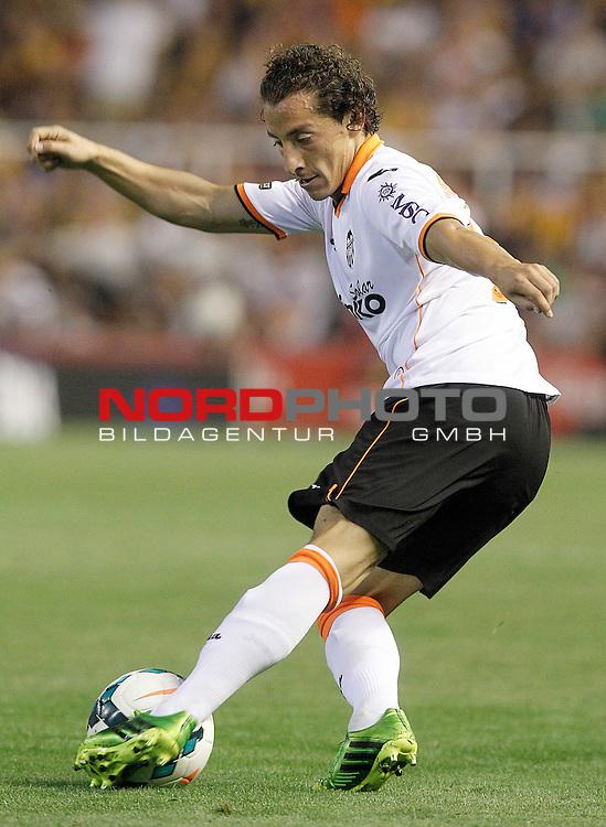 Valencia's Andres Guardado during La Liga match.September 1,2013. Foto © nph / Acero)