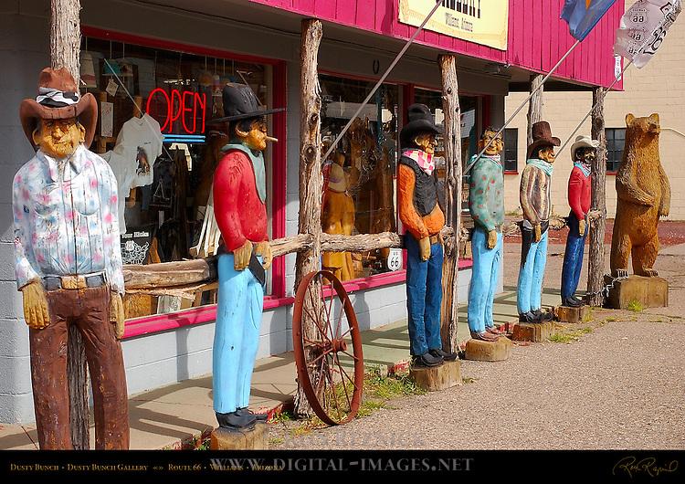 Dusty Bunch, Dusty Bunch Gallery, Route 66, Williams, Arizona