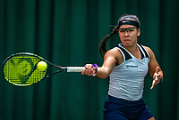 Wateringen, The Netherlands, December 4,  2019, De Rhijenhof , NOJK 14 and18 years, Cato Tangkau (NED)<br /> Photo: www.tennisimages.com/Henk Koster