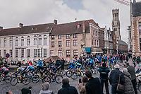 leaving Bruges<br /> <br /> Driedaagse Brugge-De Panne 2018<br /> Bruges - De Panne (202km)