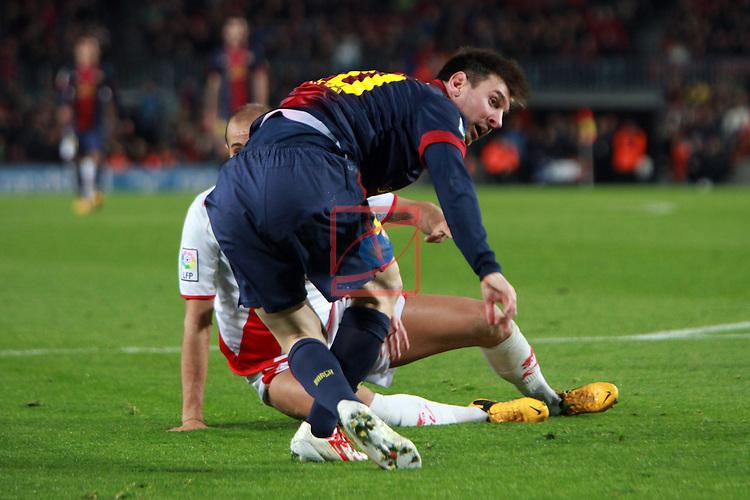 Lionel Messi vs Galvez.