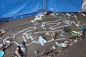 Loveparade 2010, Duisburg, Germany, area where tragedy happened