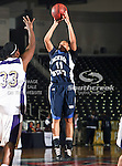 Jackson State Tigerettes guard Takeya Felder (11) in action during the SWAC Tournament game between the Prairie View A&M Lady Panthers and the Jackson State Tigerettes  at the Special Events Center in Garland, Texas. Prairie View defeats Jackson State 56 to 40.