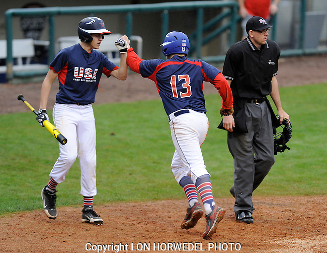 Game Day USA U-14 All Stars vs. Miami Baseball Academy Stars, Disney New Year's Baseball Classic Championship, Kissimmee, Florida, 1-1-14.