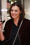 French fashion designer and former model Ines de la Fressange attends the launch party of her new collection for Uniqlo in Tokyo on September 10, 2015. (Photo by Yusuke Nakanishi/AFLO)