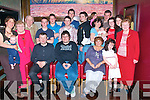21ST CELEBRATIONS: Terry O'Sullivan, Manor, Tralee (seated centre) celebrated his 21st birthday in Gally's bar/restaurant, Castlemaine Rd., Tralee last Friday with his parents, Margaret & Bill and lots of family and friends. Pictured here are standing l-r: Audrey O'Sullivan with baby Darragh, Kit O'Sullivan, Tim O'Brien, Darragh O'Connell, Norma McCann, Rob Sugrue, Patrick O'Sullivan, Henry McCann, Aoife & Loretto O'Sullivan with baby Brid, Terry, Katie & Catherine O'Sullivan, Sheila O'Sullivan and Aine O'Sullivan..