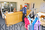 Launch of the New Clubhouse and facilities at Castlegregory Golf Club Stradbally, Castlegregory. Pictured at reception Joan Ferriter and Kevin Moore