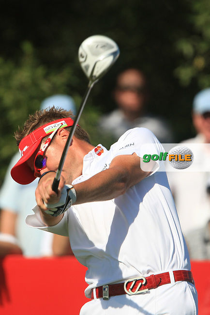 Ian Poulter (ENG) on the third day of the DUBAI WORLD CHAMPIONSHIP presented by DP World, Jumeirah Golf Estates, Dubai, United Arab Emirates.Picture Denise Cleary www.golffile.ie