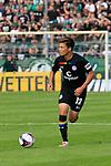 11.08.2019, Stadion Lohmühle, Luebeck, GER, DFB-Pokal, 1. Runde VFB Lübeck vs 1.FC St. Pauli<br /> <br /> DFB REGULATIONS PROHIBIT ANY USE OF PHOTOGRAPHS AS IMAGE SEQUENCES AND/OR QUASI-VIDEO.<br /> <br /> im Bild / picture shows<br /> Einzelaktion/Aktion. Ganze Figur. Einzeln. Freisteller. Johannes Flum (FC St. Pauli)<br /> <br /> Foto © nordphoto / Tauchnitz