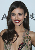 BEVERLY HILLS- OCTOBER 13:  Victoria Justice at amfAR Los Angeles 2017 at Ron Burkleâs Green Acres Estate on October 13, 2017 in Beverly Hills, California. (Photo by Scott Kirkland/PictureGroup)