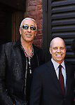 Dee Snider (Twisted Sister) and Celebrity Apprentice and Figure Skaters Scott Hamilton Olympic at The 2012 Skating with the Stars - a benefit gala for Figure Skating in Harlem celebrating 15 years on April 2, 2012 at Central Park's Wollman Rink, New York City, New York.  (Photo by Sue Coflin/Max Photos)