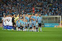 PORTO ALEGRE, RS, 02.11.2016 - GRÊMIO- CRUZEIRO -  Grêmio e Cruzeiro entram em campo, para partida válida pela semifinais da Copa do Brasil 2016, na Arena do Grêmio, nesta quarta-feira.(Foto: Rodrigo Ziebell/Brazil Photo Press)