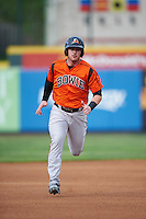 Bowie Baysox first baseman Joey Terdoslavich (7) during a game against the Erie SeaWolves on May 12, 2016 at Jerry Uht Park in Erie, Pennsylvania.  Bowie defeated Erie 6-5.  (Mike Janes/Four Seam Images)