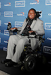 LOS ANGELES, CA - JULY 11: Eric LeGrand poses in the press room during the 2012 ESPY Awards at Nokia Theatre L.A. Live on July 11, 2012 in Los Angeles, California.