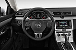 Car pictures of steering wheel view of a 2017 Volkswagen CC Sport 4 Door Sedan Steering Wheel