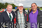 Michael Fox Connor, Christy Leahy and Robert Boland pictured at the Ireland v Estonia U-16 International friendly at Pat Kennedy Park Listowel on Tuesday