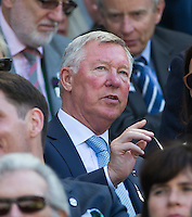 ALEX FERGUSON<br /> <br /> TENNIS - THE CHAMPIONSHIPS - WIMBLEDON 2015 -  LONDON - ENGLAND - UNITED KINGDOM - ATP, WTA, ITF <br /> <br /> &copy; AMN IMAGES23