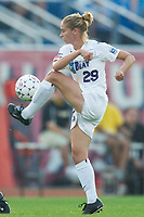 Leslie Gaston of the Beat. The Atlanta Beat and the NY Power played to a 1-1 tie on 7/26/03 at Mitchel Athletic Complex, Uniondale, NY.