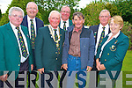 Batty Coffey, Killarney, pictured with Stan McKeon, John Behan, Padraig Kelly, Michael O'Callaghan, Denis Barrett and Carmel Kelly at the Irish Trout Fly Fishing Associations dinner in Darby O'Gills, Killarney on Saturday night.
