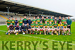 The Kerry team that played Waterford in the Munster cup in Killarney on Saturday