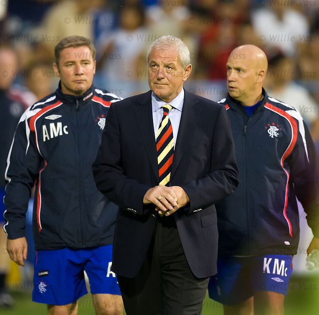 Walter Smith, Rangers with Ally McCoist and Kenny McDowall