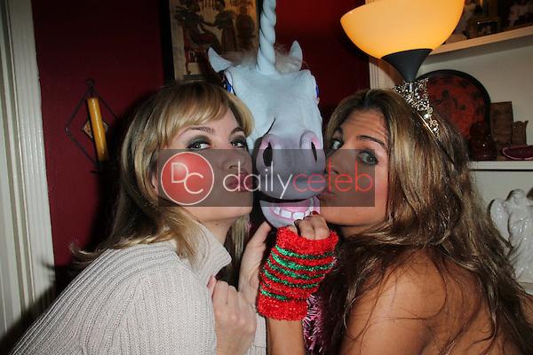 Rena Riffel, Bridgetta Tomarchio<br /> at Bridgetta Tomarchio's Birthday Party, Private Location, Los Angeles, CA 12-14-12<br /> David Edwards/DailyCeleb.com 818-249-4998