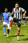 Nathan Arnold of Grimsby Town during the Vanamara Conference Play Off Semi Final First Leg match between Eastleigh and Grimsby Town at The Silverlake Stadium, Eastleigh<br /> Picture by David Horn/eXtreme aperture photography +44 7545 970036<br /> 30/04/2015