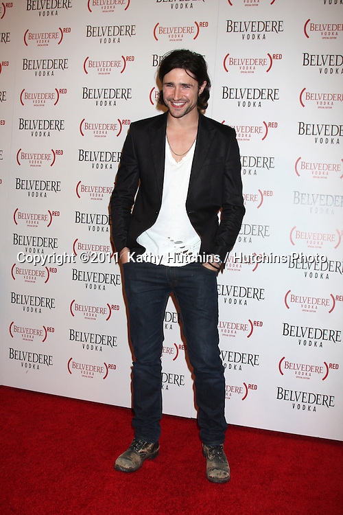 LOS ANGELES - FEB 10:  Matt Dallas arrives at the Belvedere RED Special Edition Bottle Launch at Avalon on February 10, 2011 in Los Angeles, CA
