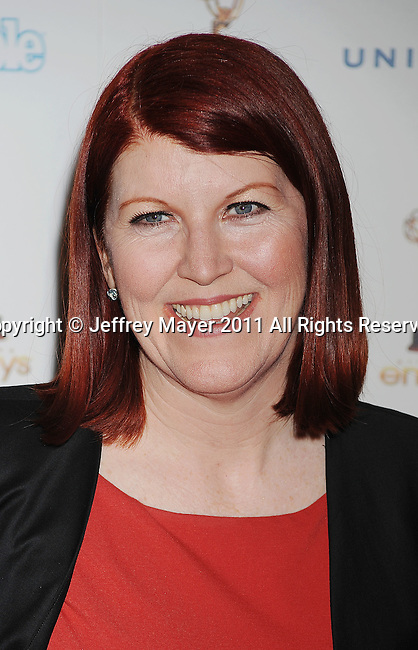 WEST HOLLYWOOD, CA - SEPTEMBER 16: Kate Flannery attends the 63rd Annual Emmy Awards Performers Nominee Reception held at the Pacific Design Center on September 16, 2011 in West Hollywood, California.