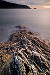 Rocks leading into Deadmans Cove Dartmouth Devon
